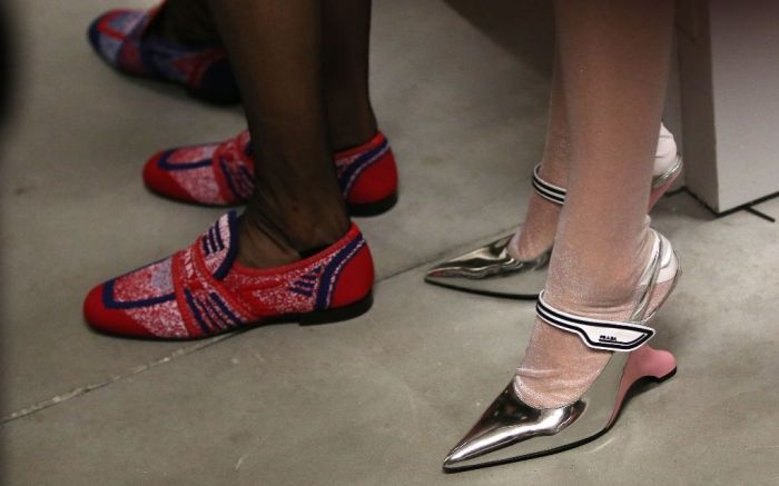 prada spring 2019 shoe trends inverted heels