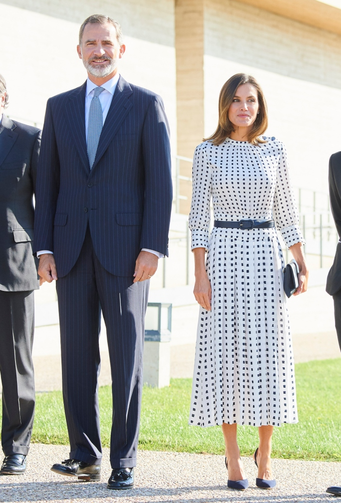 Queen Letizia, King Felipe VI of Spain