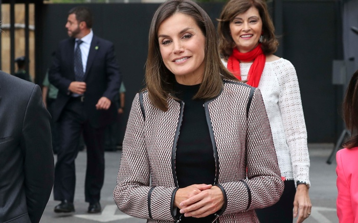 Spanish Queen Letizia during the commemorative events of the XXX anniversary of the entry of women into the civil guard held in Madrid, Spain.Pictured: Queen Letizia of SpainRef: SPL5027863 260918 NON-EXCLUSIVEPicture by: SplashNews.comSplash News and PicturesLos Angeles: 310-821-2666New York: 212-619-2666London: 0207 644 7656Milan: +39 02 4399 8577Sydney: +61 02 9240 7700photodesk@splashnews.comAustralia Rights, Canada Rights, Denmark Rights, Ireland Rights, Finland Rights, Norway Rights, New Zealand Rights, Sweden Rights, United Kingdom Rights, United States of America Rights