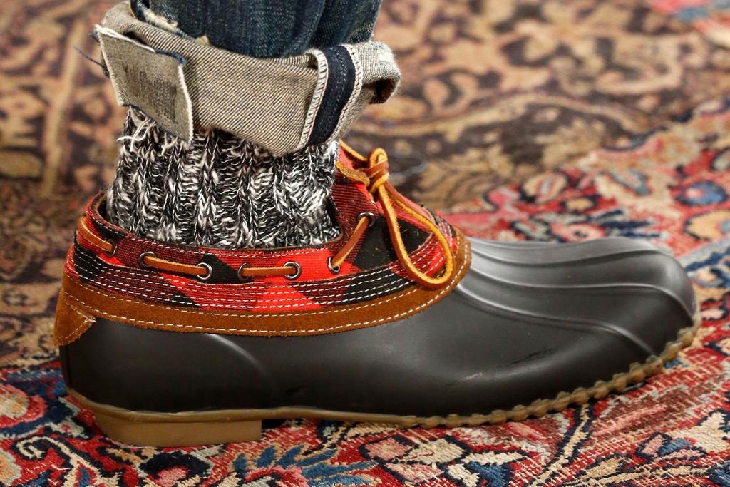 Ralph Lauren duck boots, spring 2019