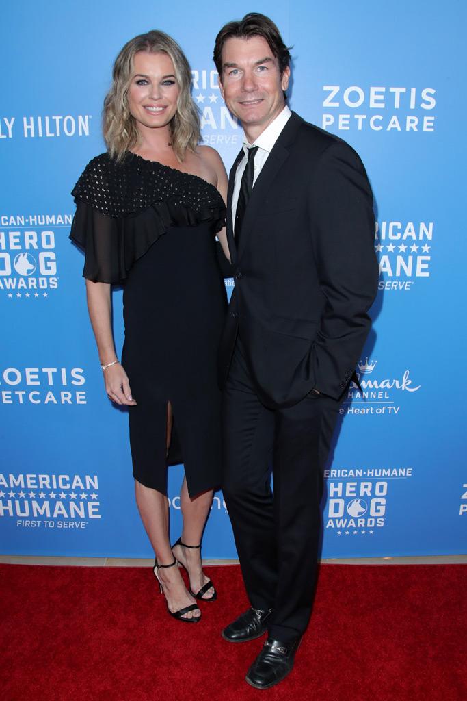 Rebecca Romijn, red carpet, Jerry O'Connell