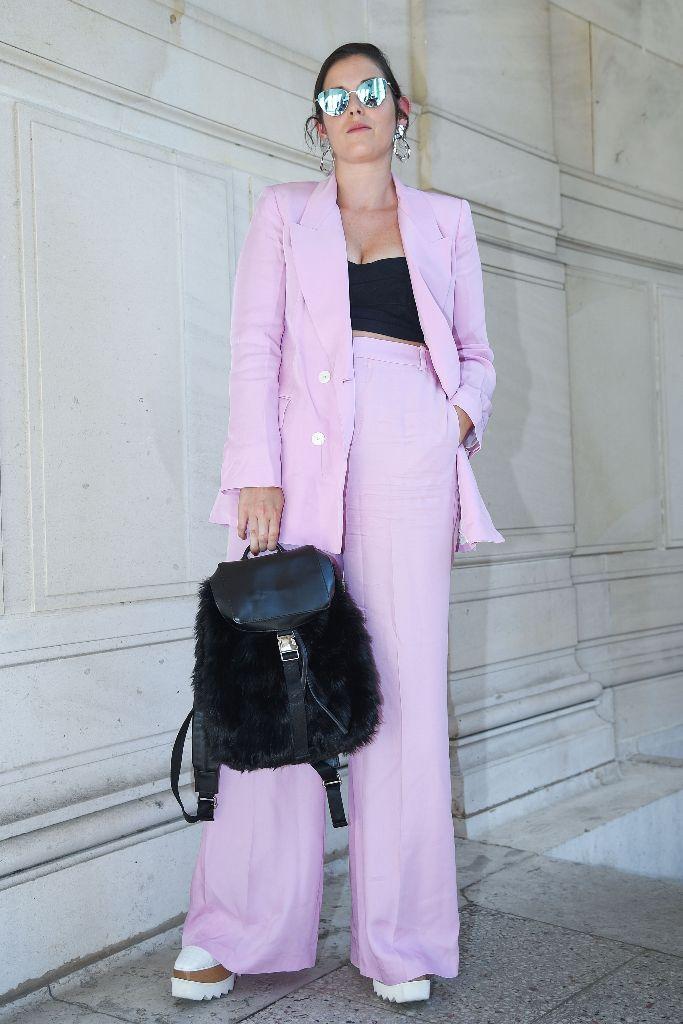 lilac 2018 trend paris men's fashion week
