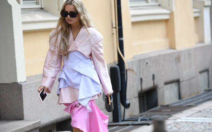 Street StyleStreet style, Spring Summer 2019, Oslo Fashion Week, Norway - 14 Aug 2018