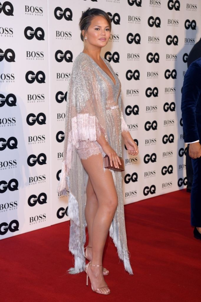 chrissy teigen, gq men of the year awards