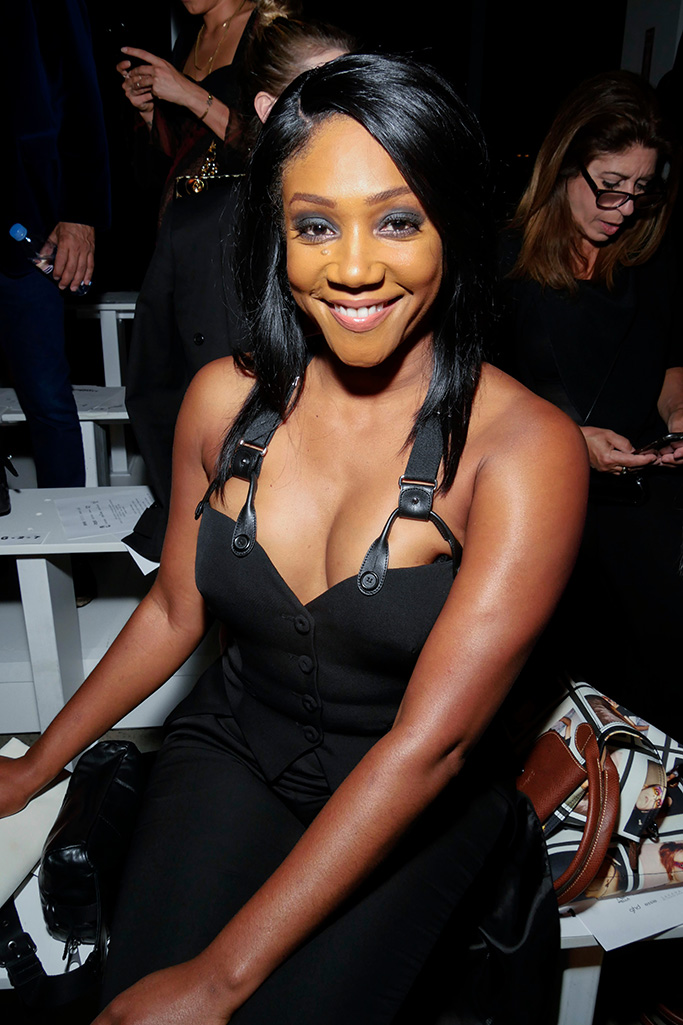 Tiffany Haddish in the front rowJeremy Scott show, Front Row, Spring Summer 2019, New York Fashion Week, USA - 06 Sep 2018