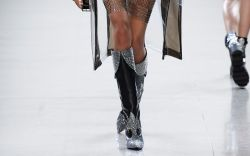 Christian Cowan rhinestone cowgirl boots