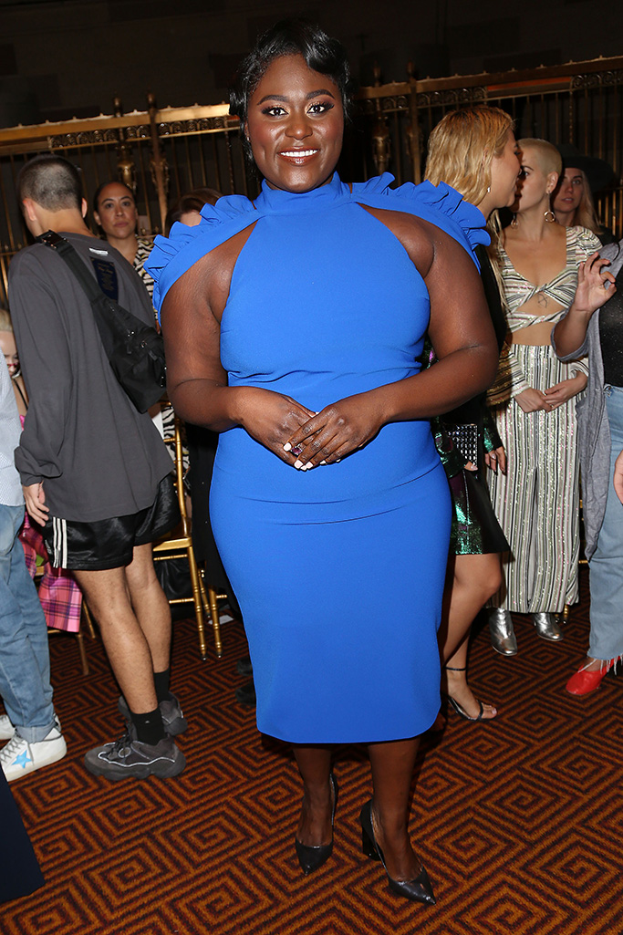 Danielle Brooks in the front rowChristian Siriano for NYFW SS19, Front Row, USA - 08 Sep 2018