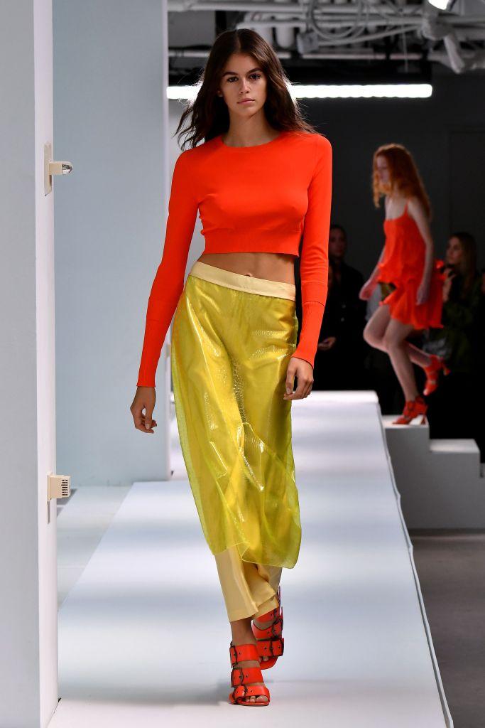 Kaia Gerber on the catwalkSies Marjan show, Runway, Spring Summer 2019, New York Fashion Week, USA - 09 Sep 2018