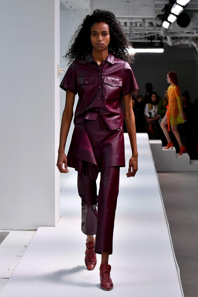 Model on the catwalkSies Marjan show, Runway, Spring Summer 2019, New York Fashion Week, USA - 09 Sep 2018