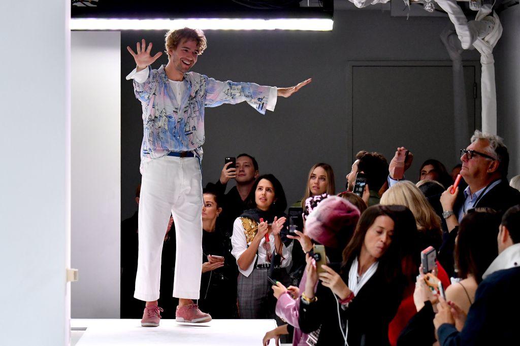 Sander Lak on the catwalkSies Marjan show, Runway, Spring Summer 2019, New York Fashion Week, USA - 09 Sep 2018