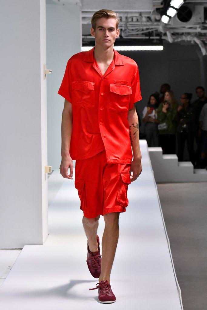 Presley Gerber on the catwalkSies Marjan show, Runway, Spring Summer 2019, New York Fashion Week, USA - 09 Sep 2018