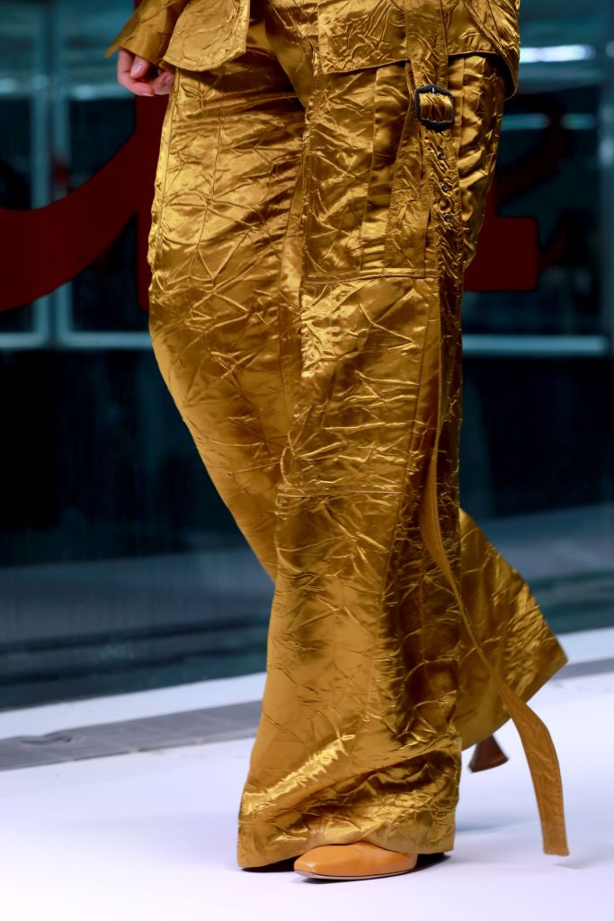 Model, fashion detailSies Marjan show, Detail, Spring Summer 2019, New York Fashion Week, USA - 09 Sep 2018
