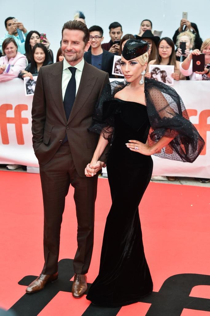 bradley cooper, lady gaga, armani prive, Toronto International Film Festival, a star is born premiere, red carpet