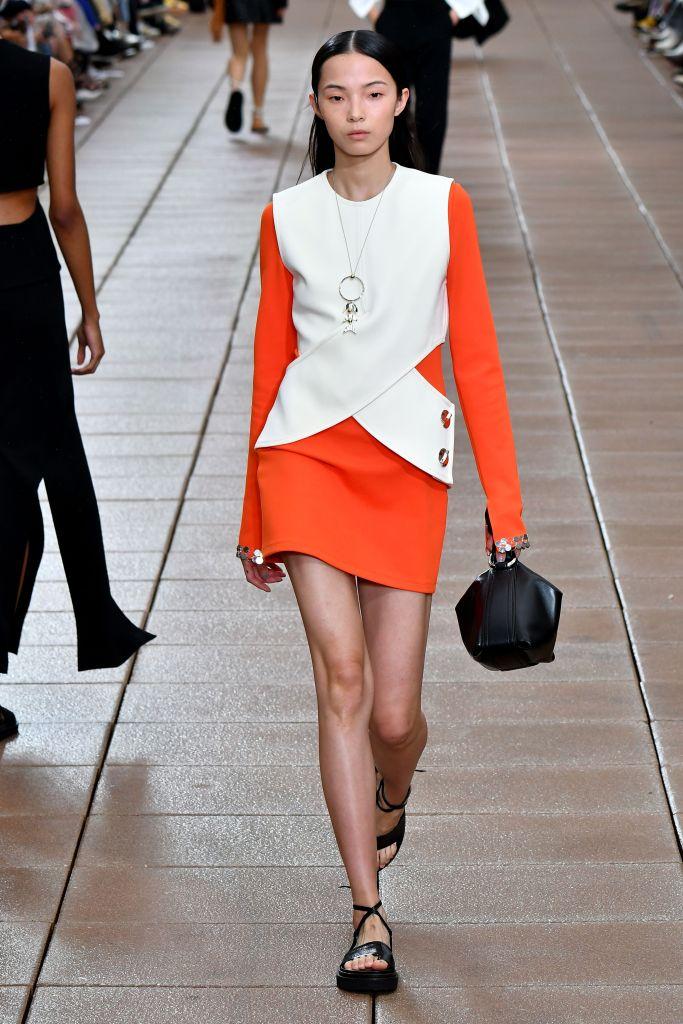 Model on the catwalk3.1 Phillip Lim show, Runway, Spring Summer 2019, New York Fashion Week, USA - 10 Sep 2018
