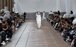 Model on the catwalk 3.1 Phillip
