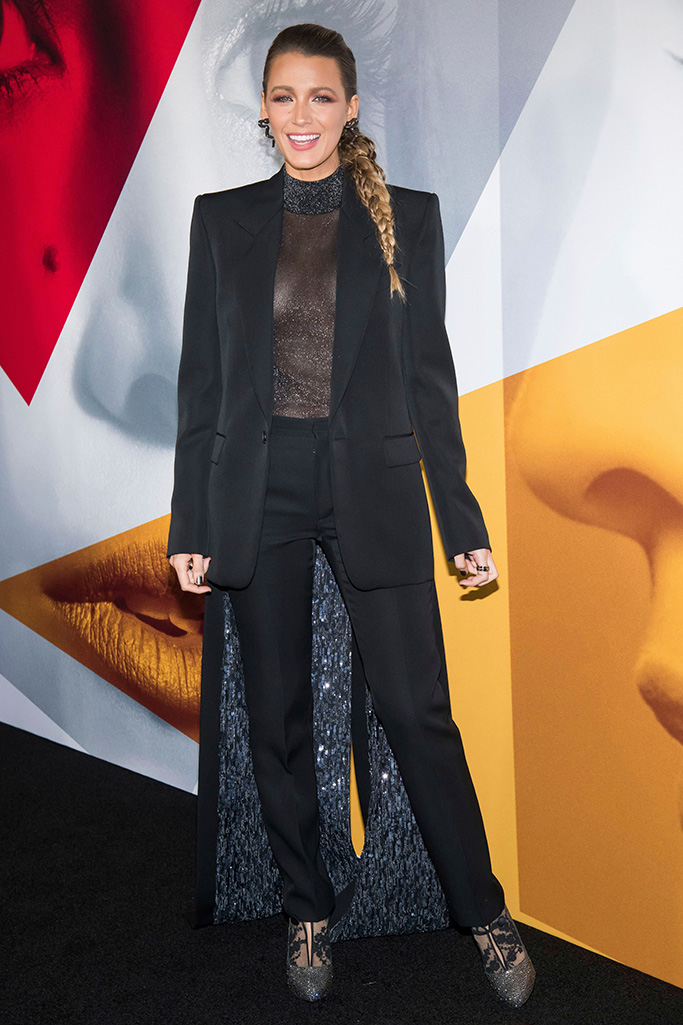 """Blake Lively attends the world premiere of """"A Simple Favor"""" at The Museum of Modern Art, in New YorkWorld Premiere of """"A Simple Favor"""", New York, USA - 10 Sep 2018"""