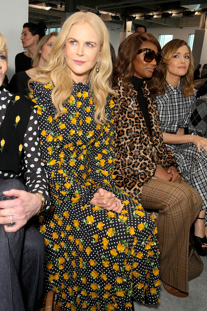 Nicole Kidman in the front rowMichael Kors show, Front Row, Spring Summer 2019, New York Fashion Week, USA - 12 Sep 2018