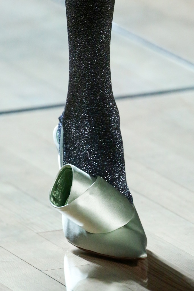 Model on the catwalk, shoe detailMarc Jacobs show, Detail, Spring Summer 2019, New York Fashion Week, USA - 12 Sep 2018