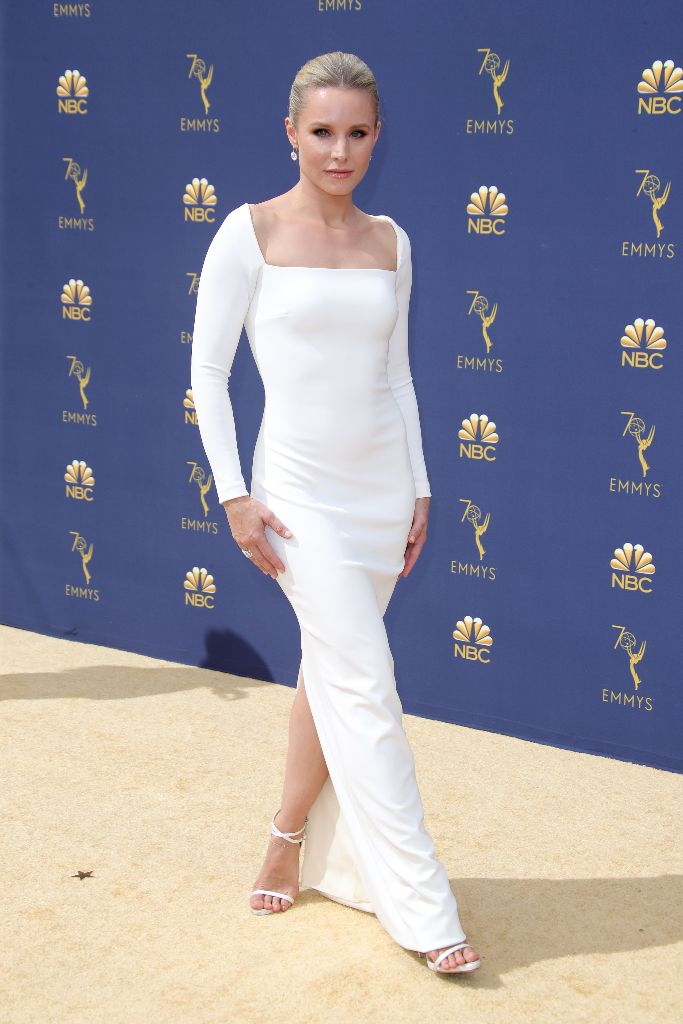 Kristen Bell, Emmy Awards, red carpet 2018