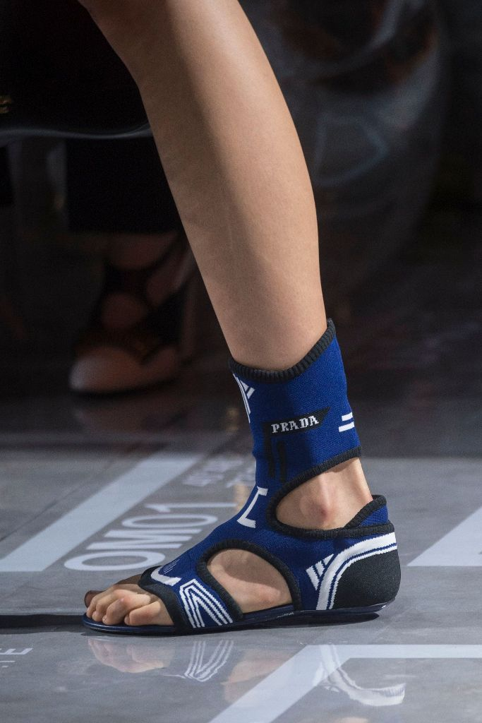 prada sock sandals spring 2019 trend