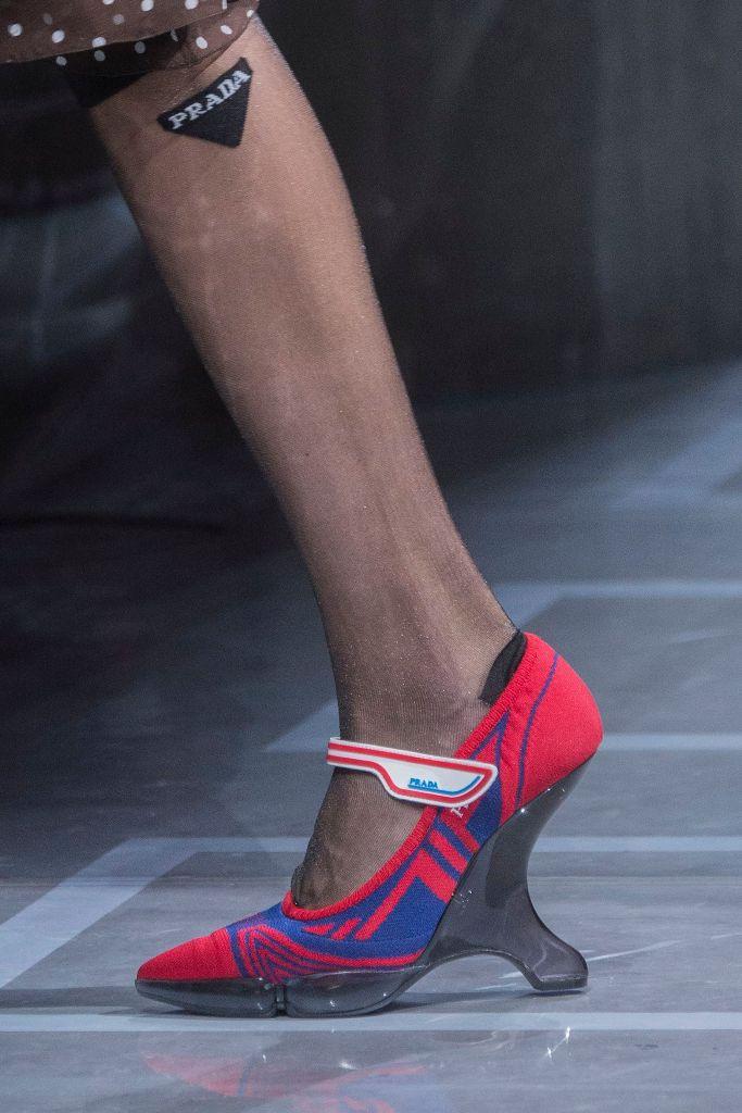 prada inverted heels spring 2019 trend