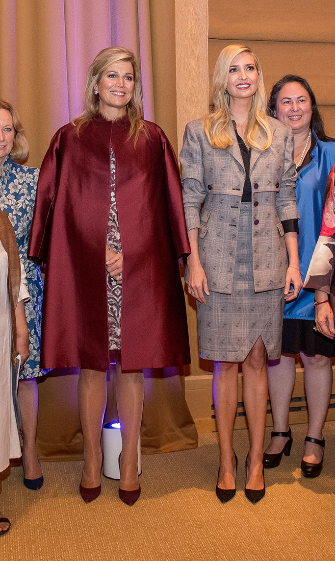 Queen Maxima, Ivanka TrumpWomen Entrepreneurs Finance Initiative, New York, USA - 25 Sep 2018