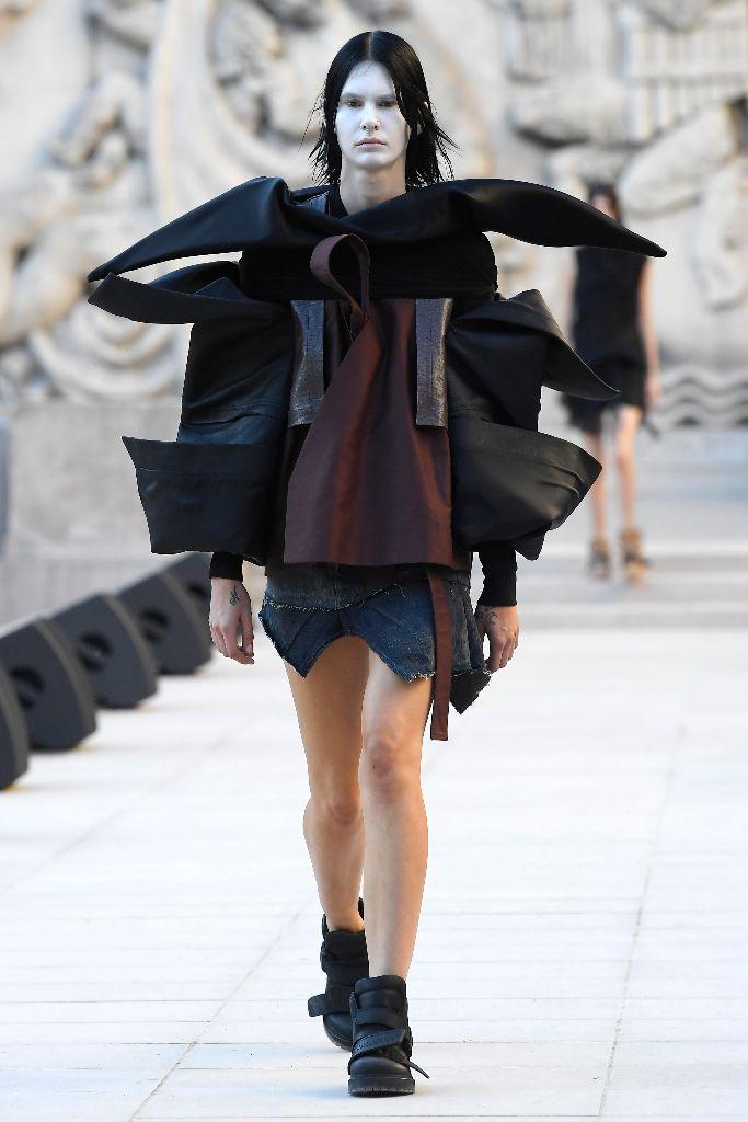 rick owens, spring 2019, paris fashion week