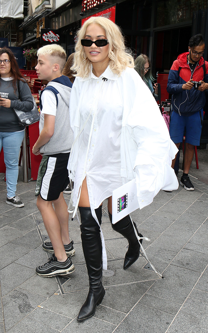 Rita Ora at Capital RadioRita Ora out and about, London, UK - 04 Sep 2018