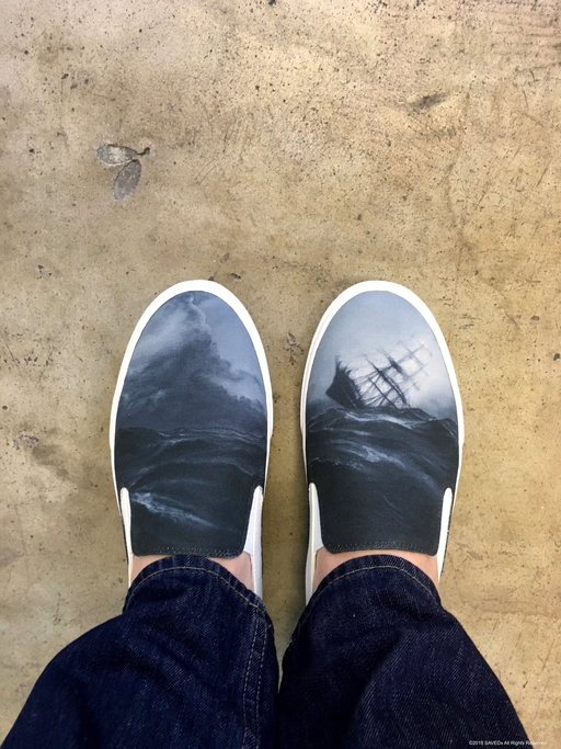 SAVEDx Till Then Sneakers