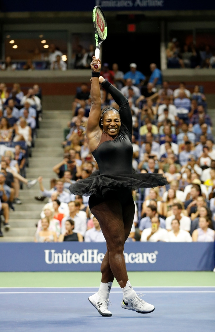 us open, serena williams, nike x off-white