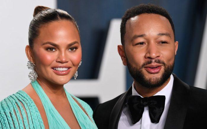 Chrissy Teigen and John LegendVanity Fair Oscar Party, Arrivals, Los Angeles, USA - 09 Feb 2020