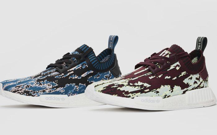 Sneakersnstuff x Adidas NMD_R1 'Datamosh 2.0' pack
