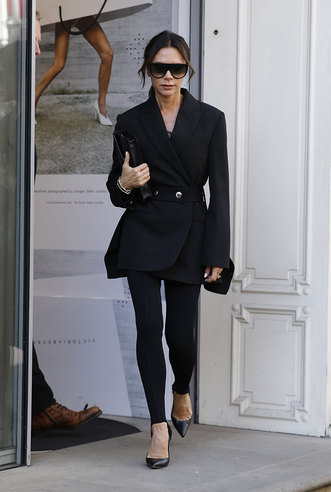 Victoria Beckham Seen At Her Shop On Dover Street In LondonPictured: Victoria BeckhamRef: SPL5025023 170918 NON-EXCLUSIVEPicture by: Ralph Petts / SplashNews.comSplash News and PicturesLos Angeles: 310-821-2666New York: 212-619-2666London: 0207 644 7656Milan: +39 02 4399 8577Sydney: +61 02 9240 7700photodesk@splashnews.comWorld Rights
