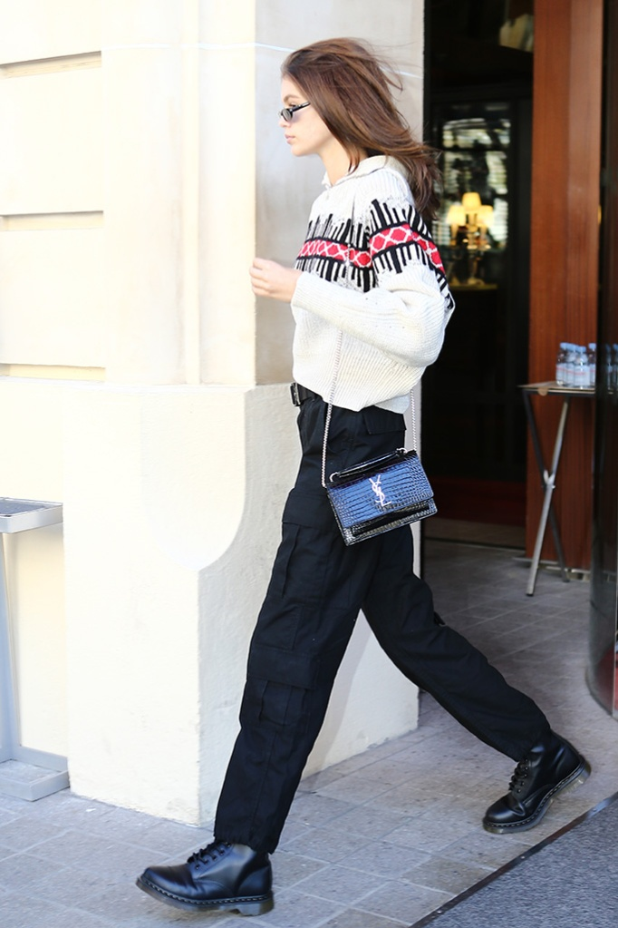 Kaia Gerber out during Paris Fashion WeekPictured: Kaia GerberRef: SPL5027371 250918 NON-EXCLUSIVEPicture by: SplashNews.comSplash News and PicturesLos Angeles: 310-821-2666New York: 212-619-2666London: 0207 644 7656Milan: +39 02 4399 8577Sydney: +61 02 9240 7700photodesk@splashnews.comWorld Rights, No Argentina Rights, No Belgium Rights, No Czechia Rights, No Finland Rights, No France Rights, No Germany Rights, No Italy Rights, No Mexico Rights, No Norway Rights, No Peru Rights, No Portugal Rights, No Spain Rights, No Sweden Rights, No Switzerland Rights, No United Kingdom Rights