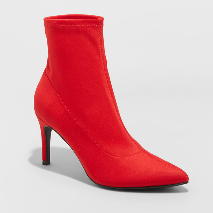 A New DayCady Stiletto Sock Booties