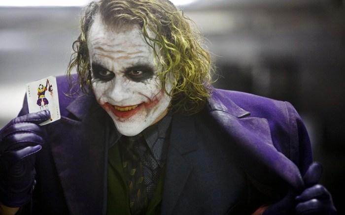 The Dark Knight Joker Heath Ledger