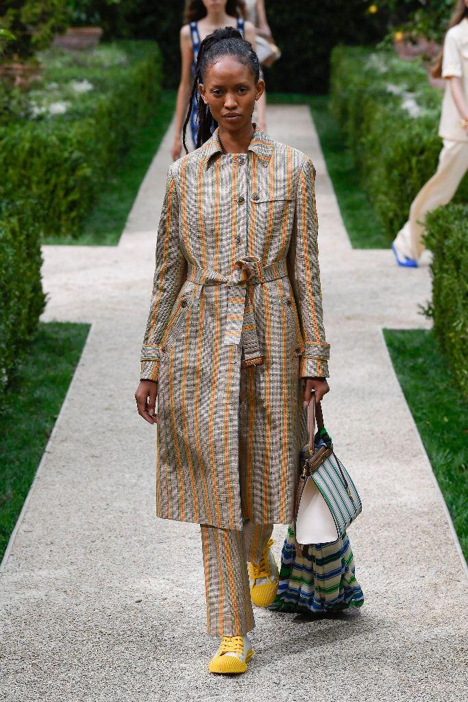 tory burch spring 2019, new york fashion week