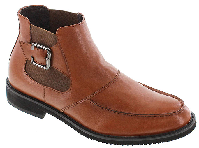 Toto Brown Leather Lightweight Boots