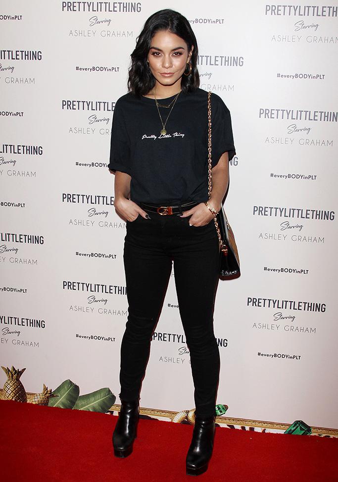 Vanessa Hudgens PrettyLittleThing Ashley Graham event, Los Angeles, USA - 24 Sep 2018Pretty Little Thing Starring Ashley Graham