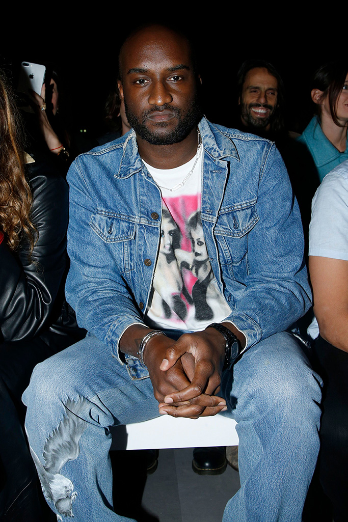 Virgil Abloh in the front rowCeline show, Front Row, Spring Summer 2019, Paris Fashion Week, France - 28 Sep 2018