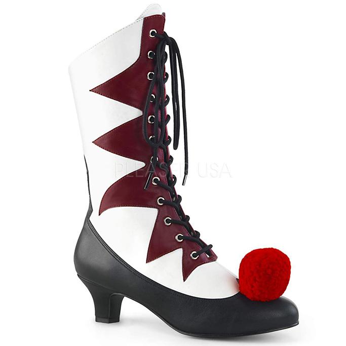 Pleaser Women's Evil Clown Shoes