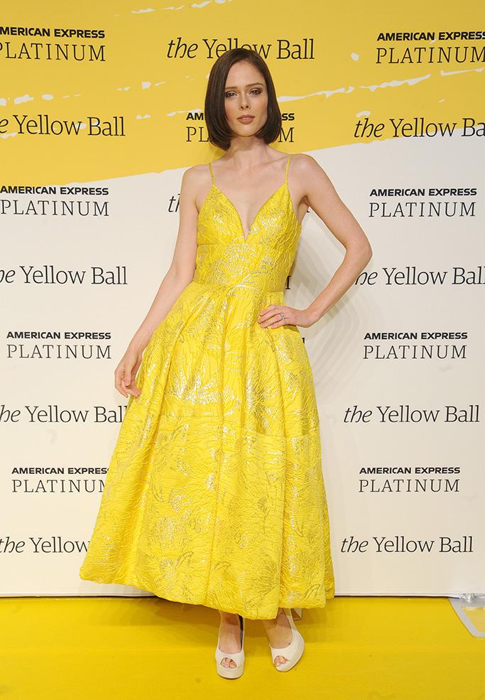 Coco RochaThe Yellow Ball, Arrivals, New York, USA - 10 Sep 2018