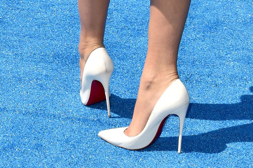 Zendaya, Christian Louboutin pumps, red carpet