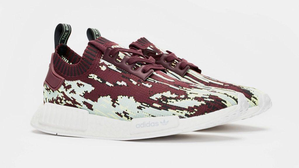 Sneakersnstuff x Adidas NMD_R1 Maroon
