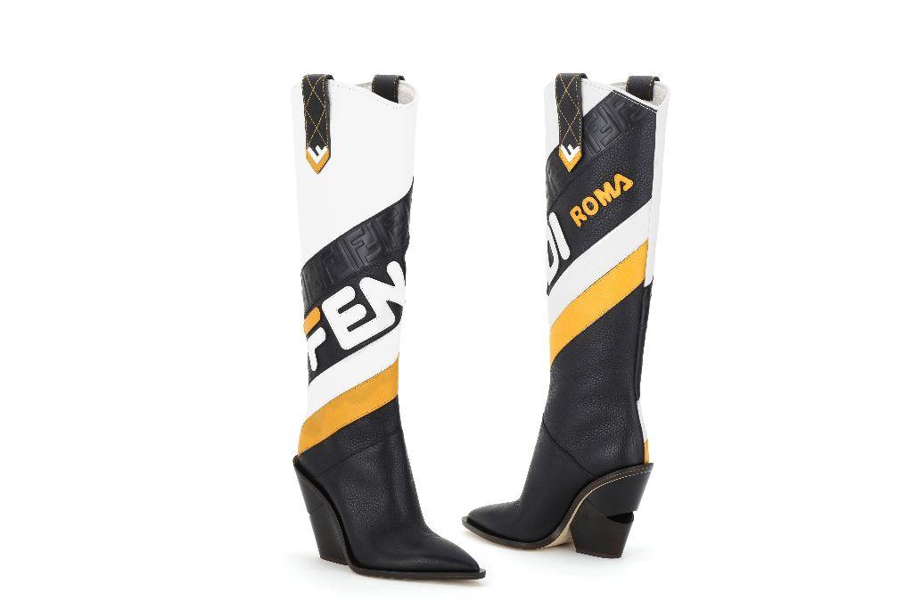 fendi mania cutwalk boots