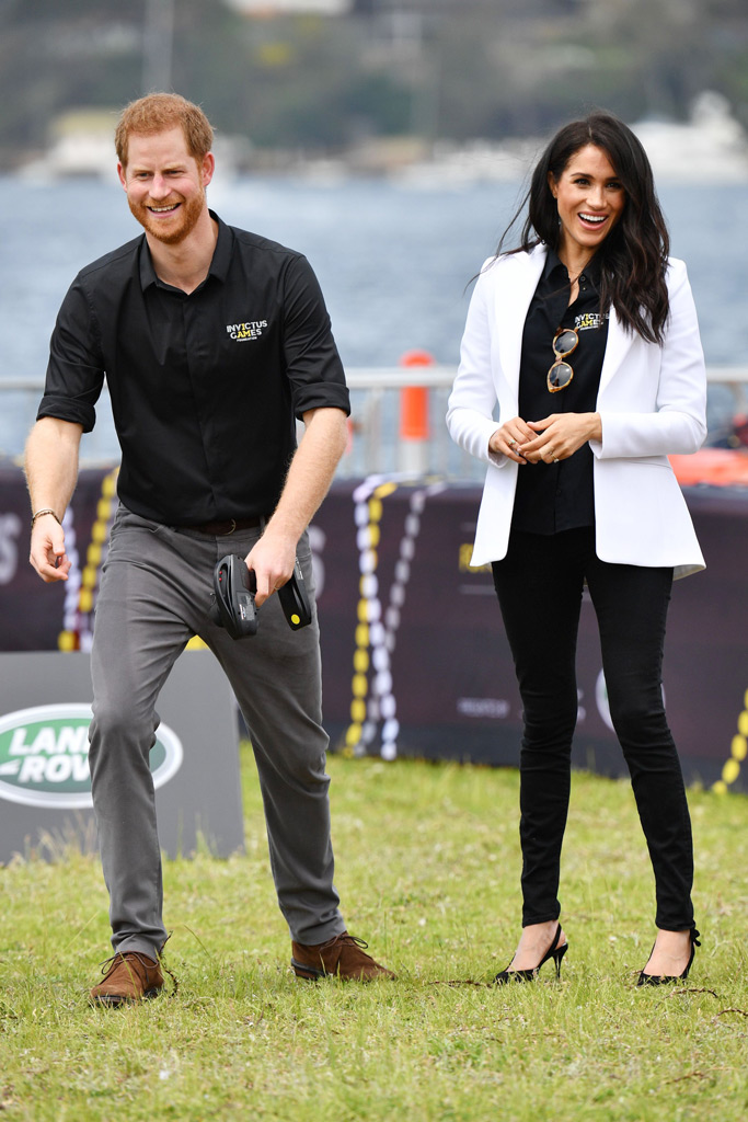 Prince Harry, Meghan Markle, Invictus Games, Australia, royal tour, cockatoo island