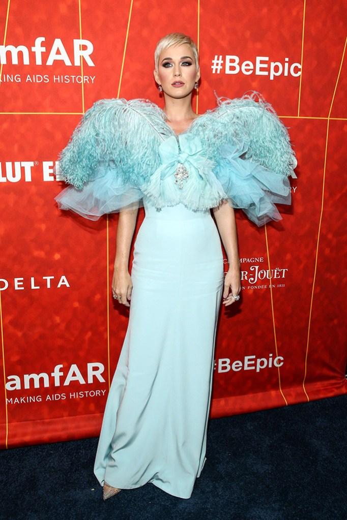 Katy PerryamfAR gala, Arrivals, Los Angeles, USA - 18 Oct 2018