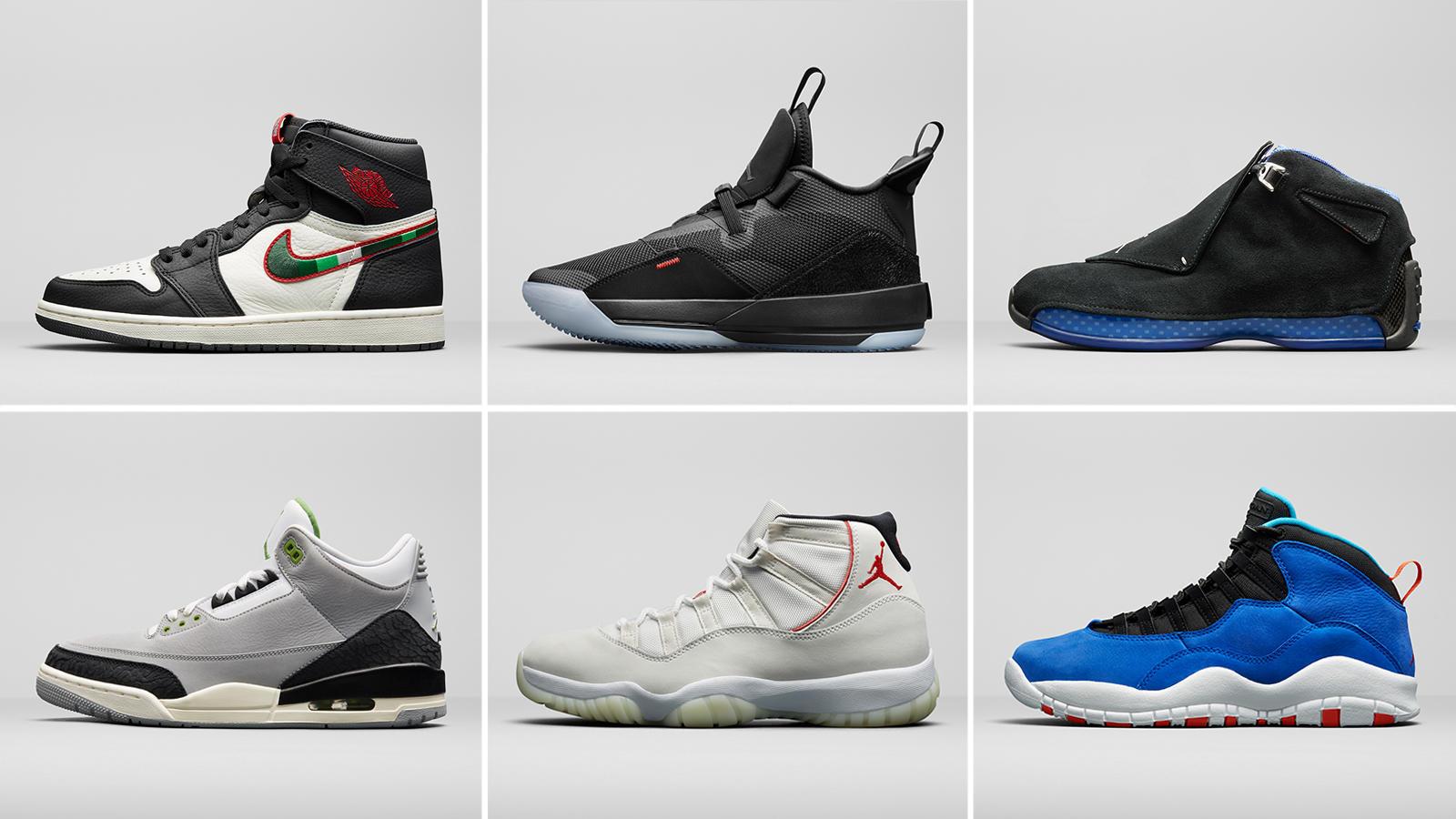 New Jordan Release Dates: Holiday 2018
