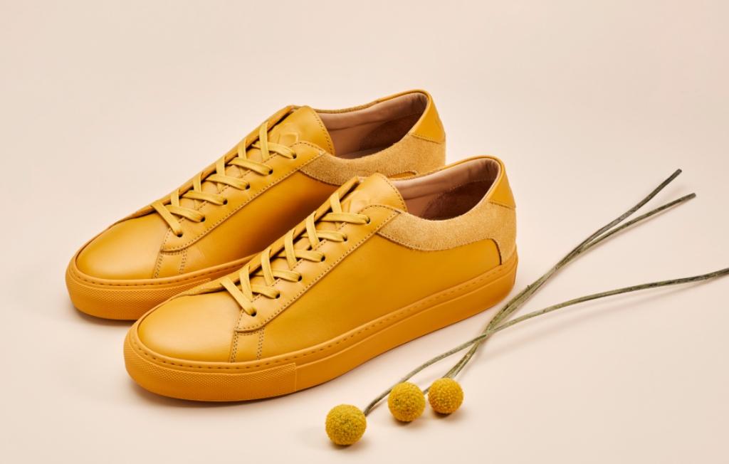 Koio Capri Zafferano low-top sneakers