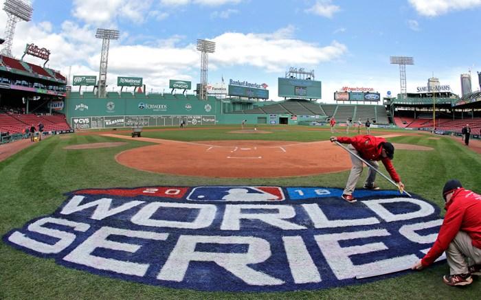 2018 MLB World Series Fenway Park Boston